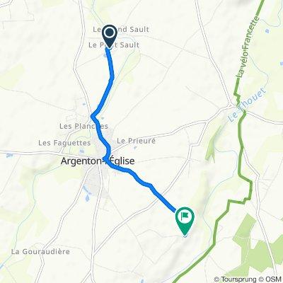 De 39 Impasse du Puits Commun, Argenton-l'Église à 198 Pernange, Argenton-l'Église
