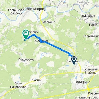 Easy ride in Захаровское