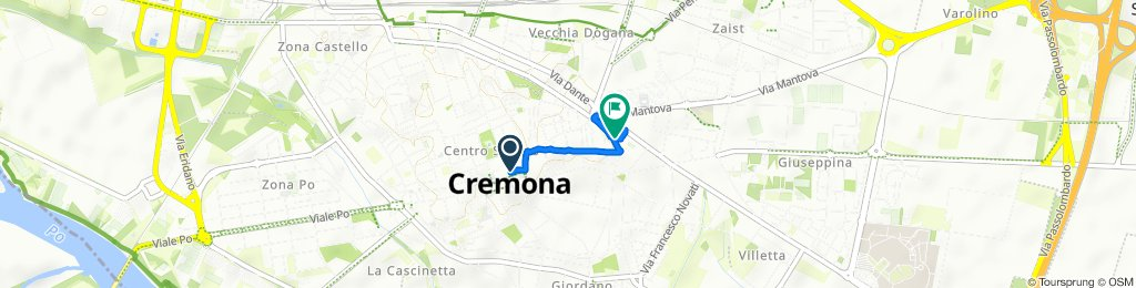 Steady ride in Cremona