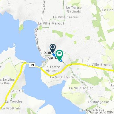 Steady ride in Saint-Briac-sur-Mer
