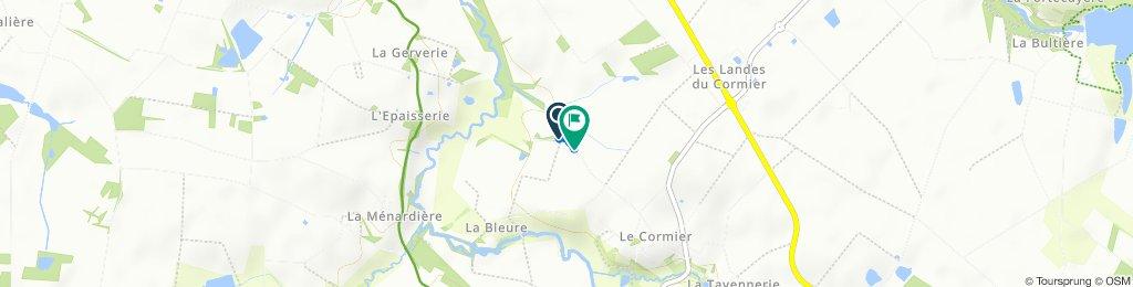 Easy ride in Chavagnes-en-Paillers
