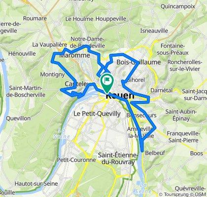 La tournée des panoramas de Rouen