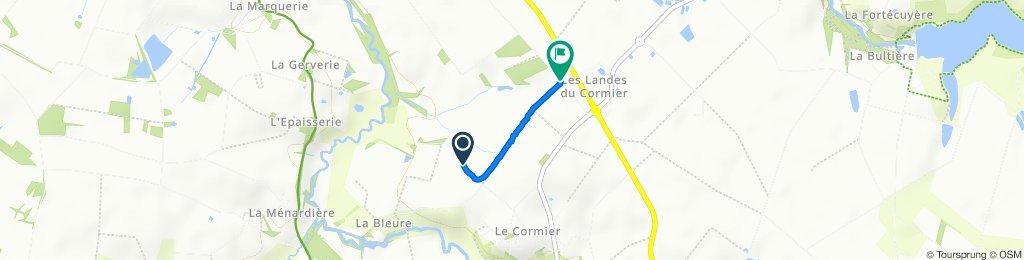 Itinéraire modéré en Chavagnes-en-Paillers