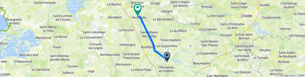 Steady ride in Remouillé