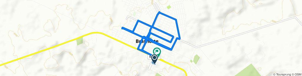 Steady ride in Brasnorte