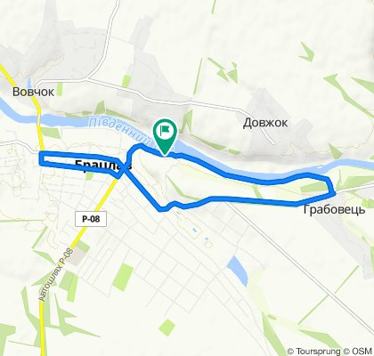 Маршрут в Unnamed Road, Брацлав