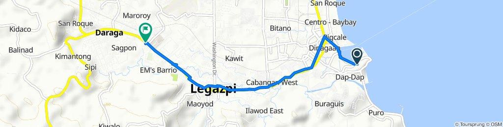 Legazpi Boulevard, Legazpi City to Daraga - Legazpi City - Tiwi Road 2