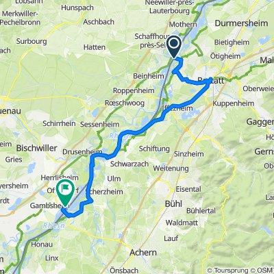 2019_M-S: Tag 7 Plittersdorf-Gambsheim, 47 km