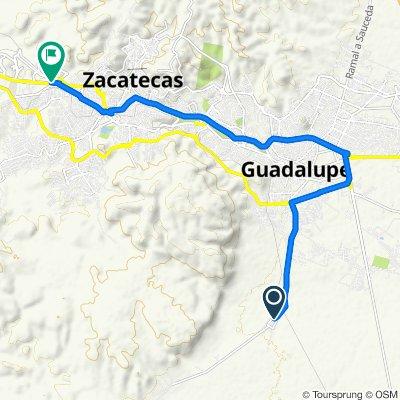De Benito Juárez, San Ramón a Calzada Héroes de Chapultepec 1602, Zacatecas