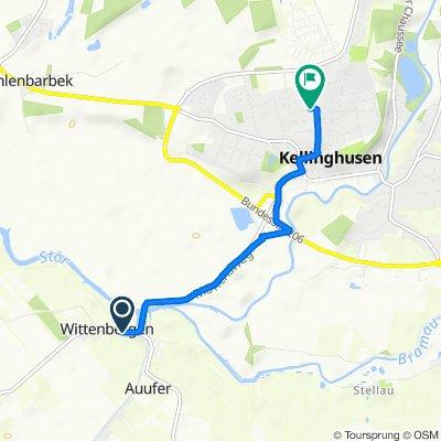 Mühlenstraße 8, Wittenbergen nach Kolberger Straße 2F, Kellinghusen
