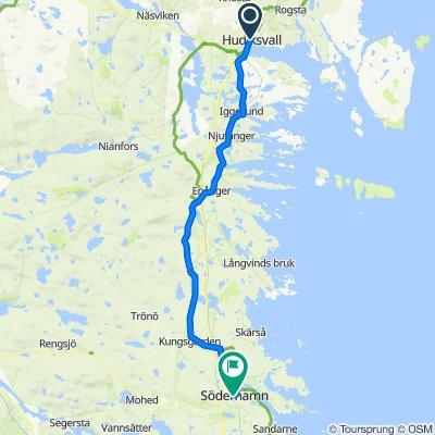 Hudiksvall - Söderhamn