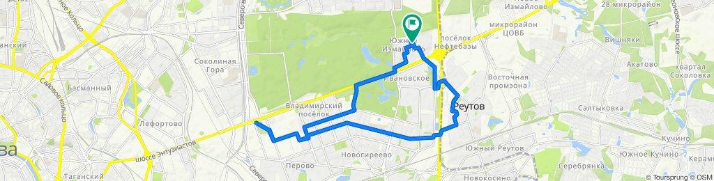 Велоездки летние сухие Реутов- Перово 29 06 2020
