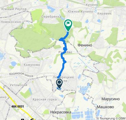 Restful route in Балашиха