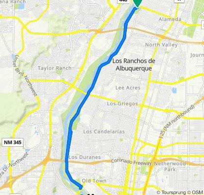 1344–1398 Alameda Blvd NW, Albuquerque to 1344–1398 Alameda Blvd NW, Albuquerque
