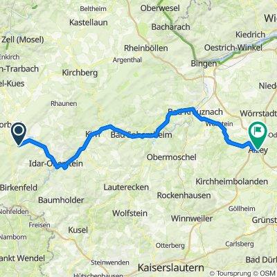 Hauptstraße 56, Allenbach nach Schloßgasse 24–28, Alzey