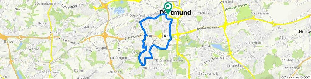 Josephstraße 3, Dortmund nach Hoher Wall 2–20, Dortmund