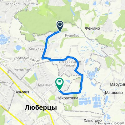 Moderate route in Люберцы