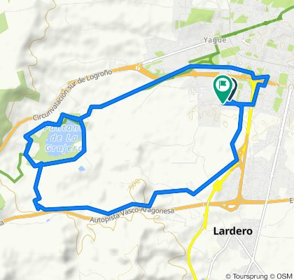 Restful route in Logroño