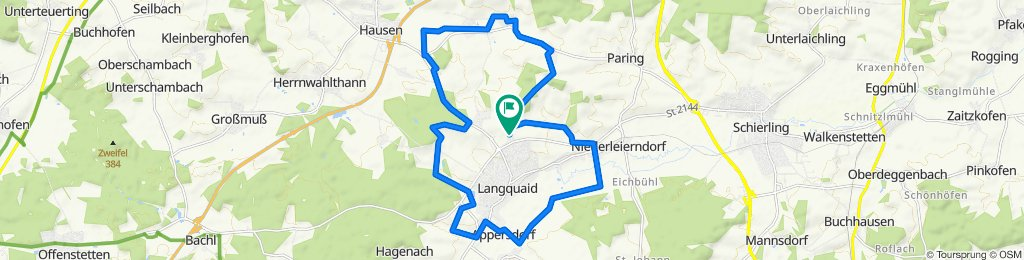 Easy ride in Langquaid