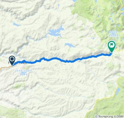 Day-4B: 5649 Pony Express Trail, Pollock Pines to 17482–17494 El Dorado Fwy, Kyburz