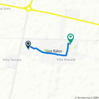 De Liniers 202–300, Los Ralos a Madre S Petrilli 200–298, Los Ralos