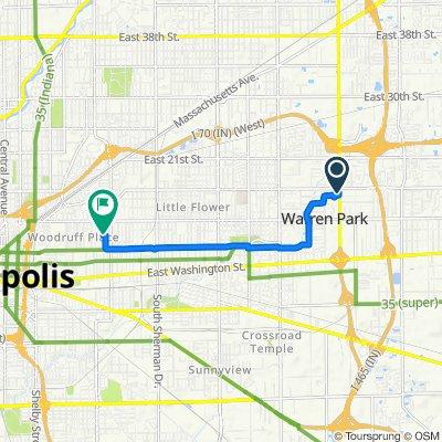 Easy ride in Indianapolis