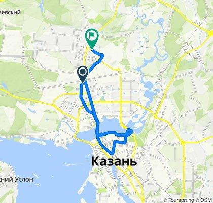 Неторопливый маршрут в Казань