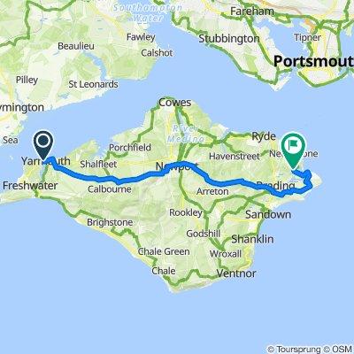Isle of Wight (no main roads)