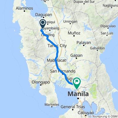 day 1: Pangasinan to Bulacan