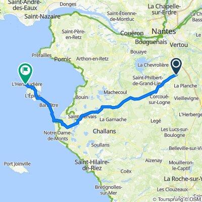 Noirmoutier - Montbert