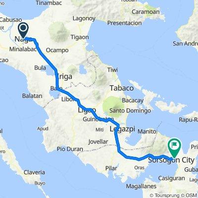 Day 5: Naga city to Sorsogon City