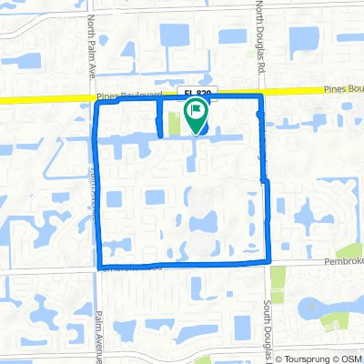 9401–9479 Palm Cir S, Pembroke Pines to 9321 SW Sixth St, Pembroke Pines