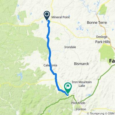 135–181 Redbud Dr, Potosi to 7406 County Road 53, Ironton