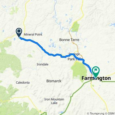 135–181 Redbud Dr, Potosi to 108 W Columbia St, Farmington