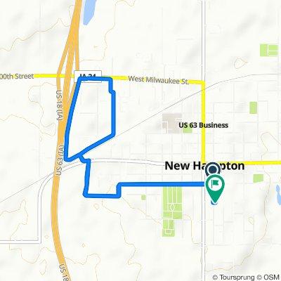 West Hamilton Street 16, New Hampton to South Walnut Avenue 238, New Hampton