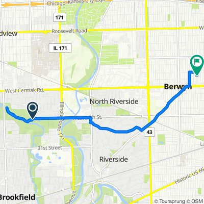 9187–9199 W 26th St, Brookfield to 1921 Scoville Ave, Berwyn