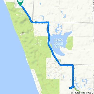 Easy ride in Norton Shores