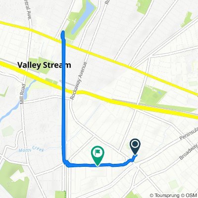 331 Piccadilly Downs, Lynbrook to 122 Munro Blvd, Valley Stream