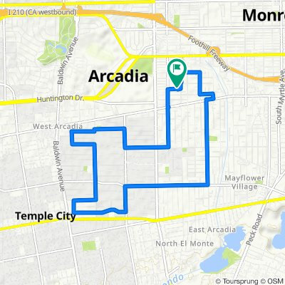 Fast ride in Arcadia