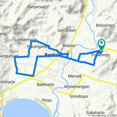 Easy ride in Pacitan