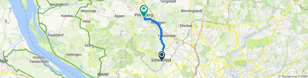 Osterbrooksweg 13, Schenefeld nach Moltkestraße 17, Pinneberg
