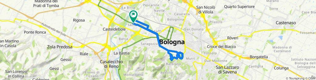Da Via Elio Bernardi 3, Bologna a Via Elio Bernardi 3, Bologna