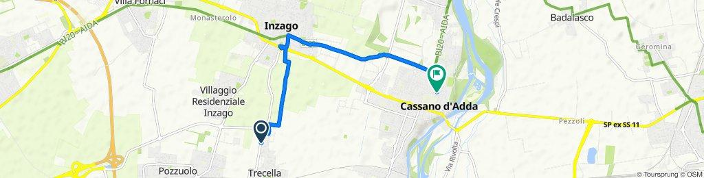 Tour veloce in Cassano d'Adda