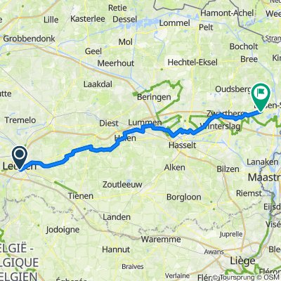 Route to Grote Homo