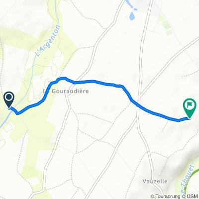 Itinéraire vers 151 Rue Clément Grellier, Argenton-l'Église