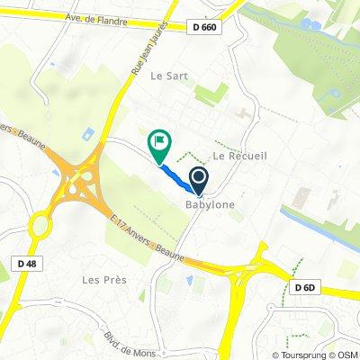 De 5 Rue Louis Constant, Villeneuve-d'Ascq à 25–29 Rue Louis Constant, Villeneuve-d'Ascq