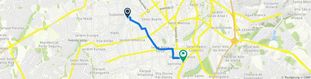 De Rua C-38 270 a Avenida Laudelino Gomes 12