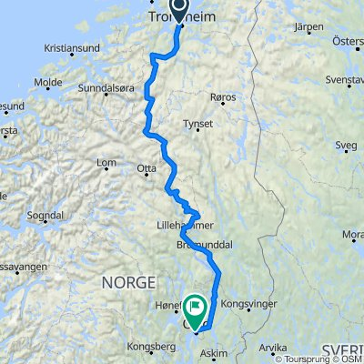 Trondheim - Oslo