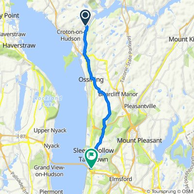 16 Dailey Dr, Croton-on-Hudson to 300 S Broadway, Tarrytown