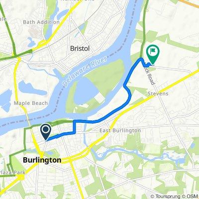 Moderate route in Burlington